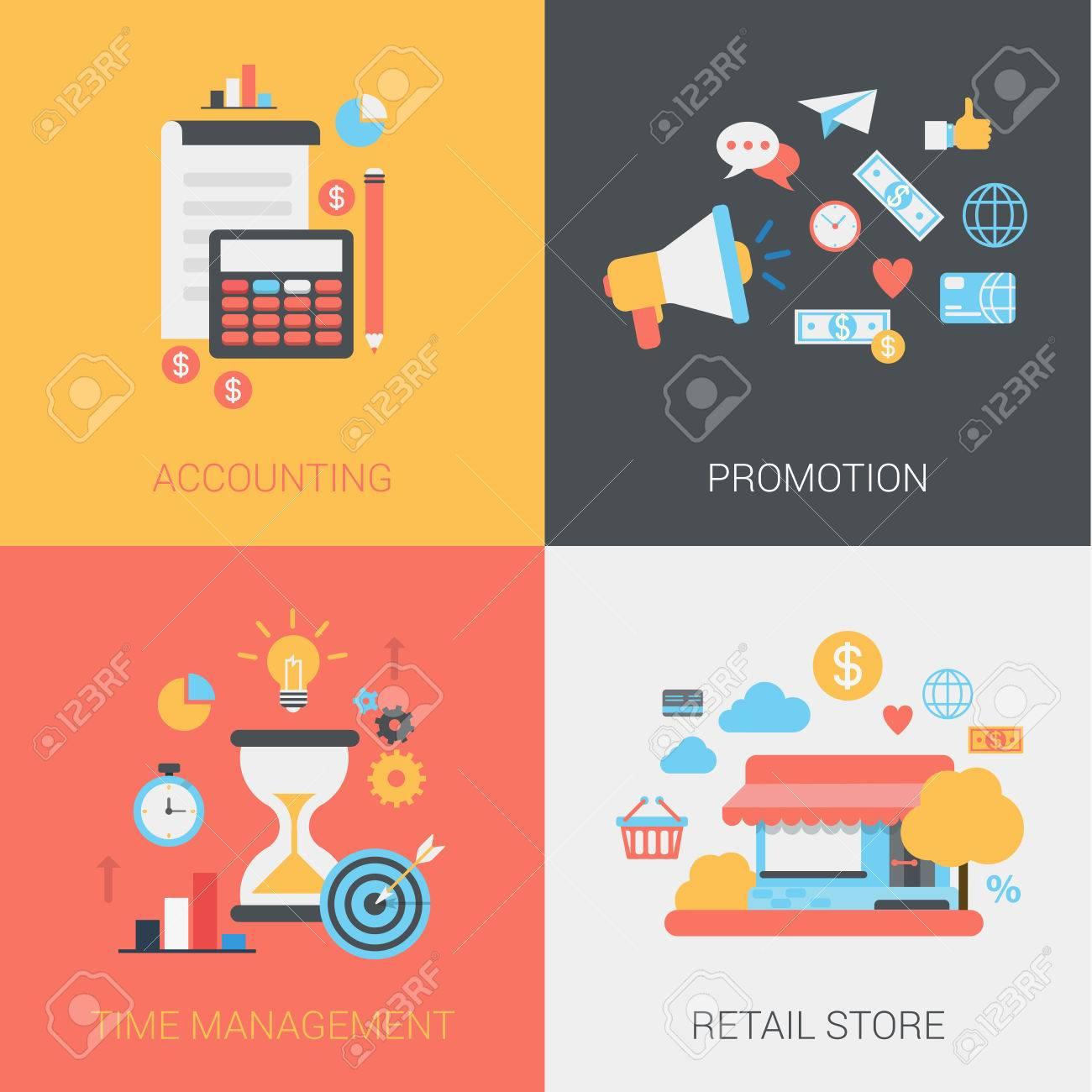 Contabilidad, Promoción, Gestión Del Tiempo Y La Tienda Al Por Menor ...