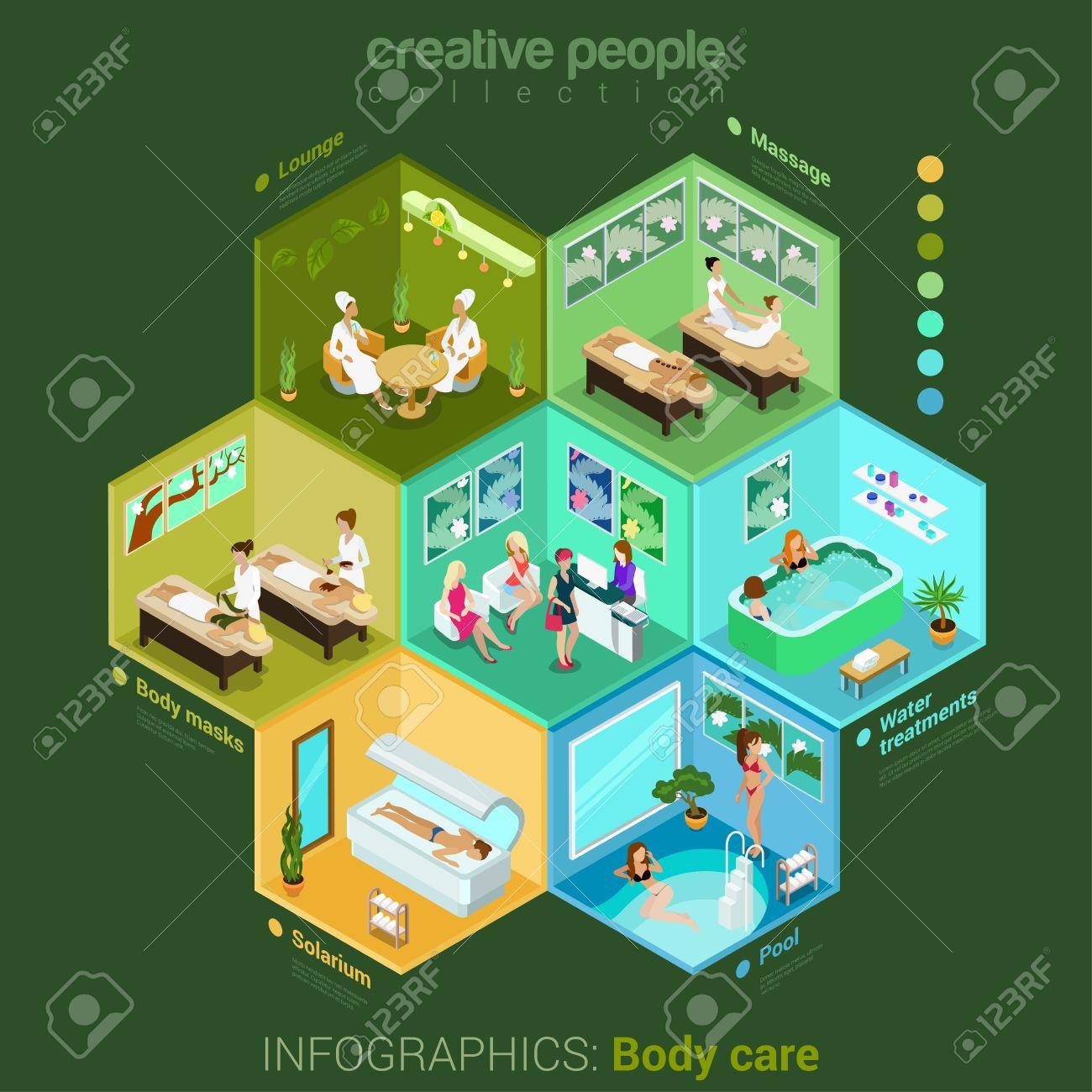 Body Treatments Spa Cliparts