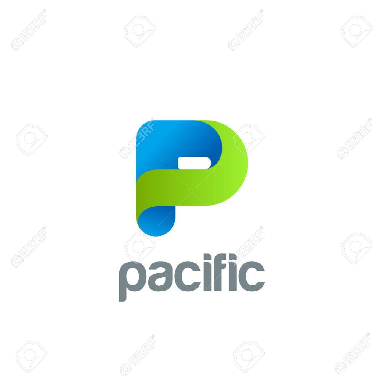 Creative Letter P Logo Design Vector Template. Friendly Funny ... for Logo Design For Alphabets  539wja