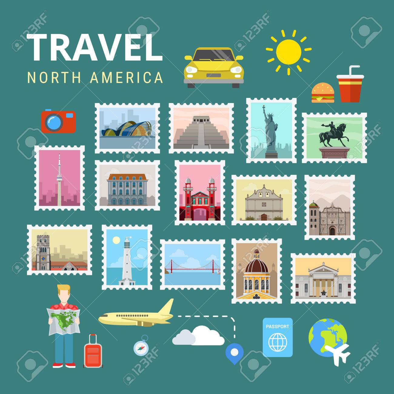 Viajes América Del Norte EE.UU. Canadá. Galería De Fotos De La ...
