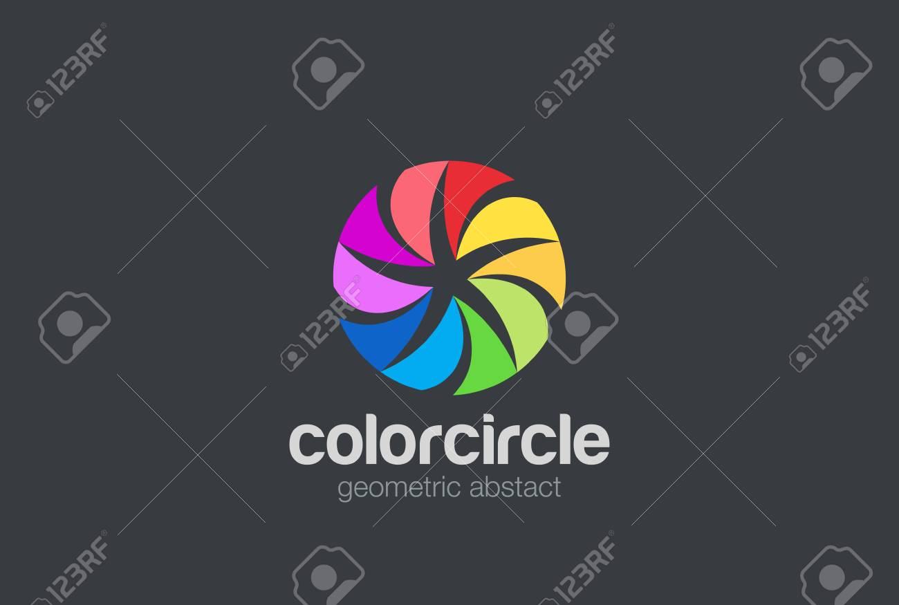 Colorful Circle Star Abstract Logo Loop Design Vector Template Team Royalty Free Cliparts Vectors And Stock Illustration Image 69594598