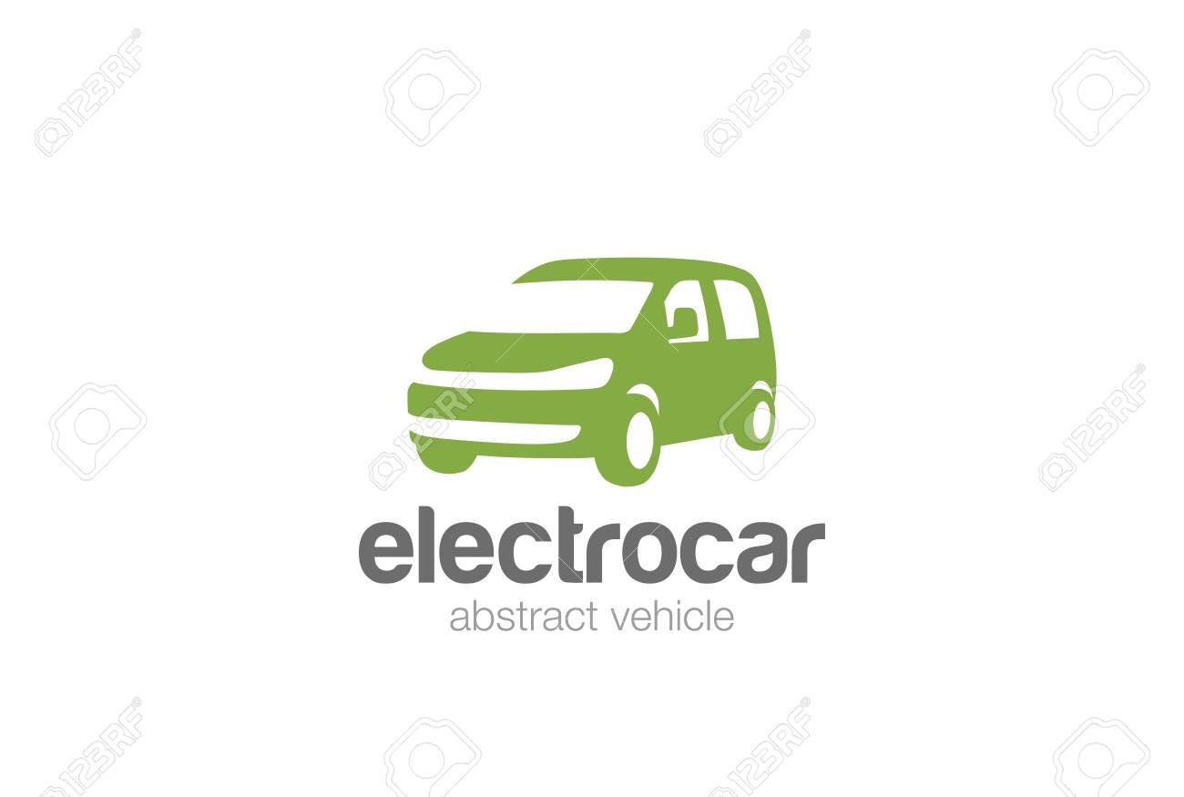 553cecb6d2 Van car delivery Logo design vector silhouette template. Auto vehicle  Logotype concept icon. Stock