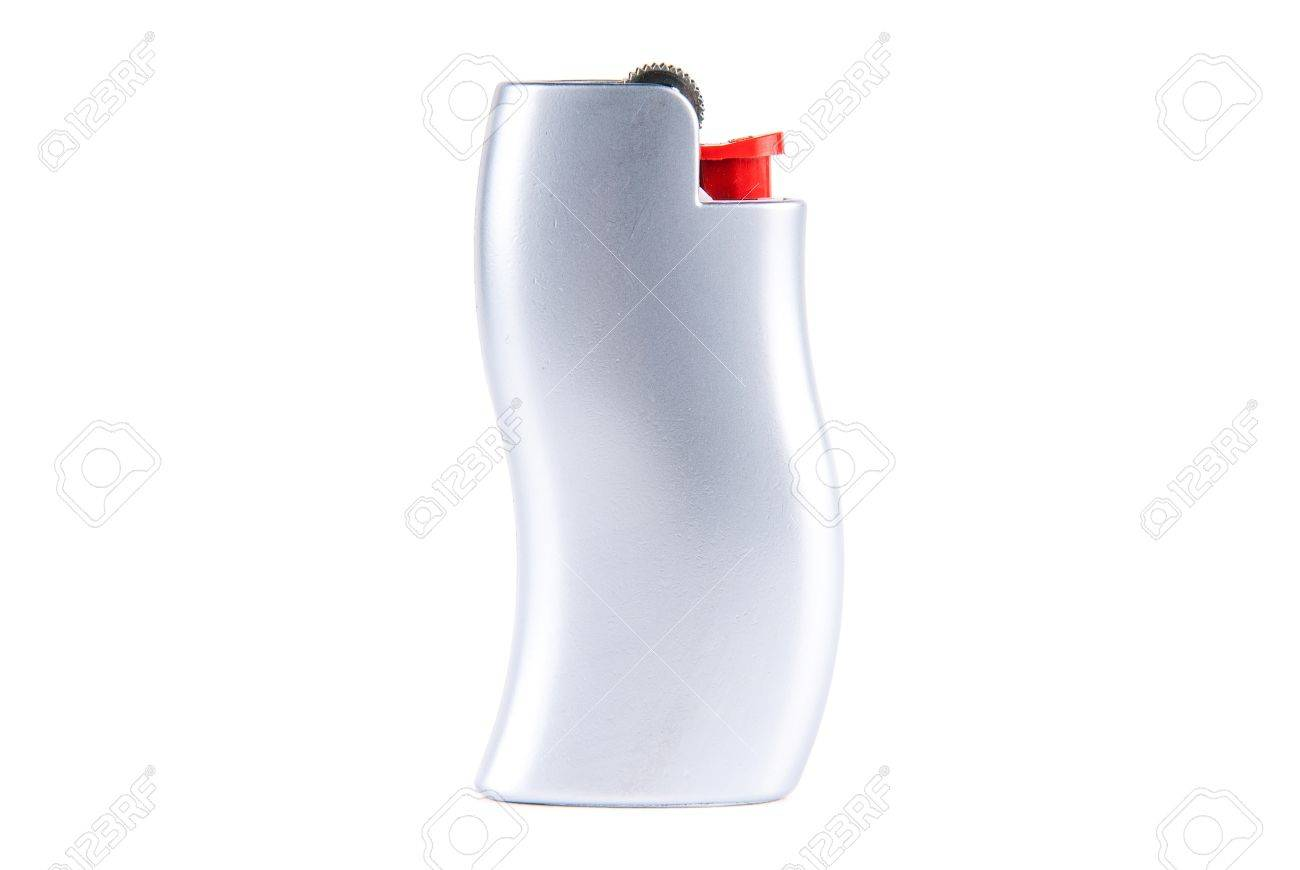 Lighter isolated on white background Stock Photo - 16451204