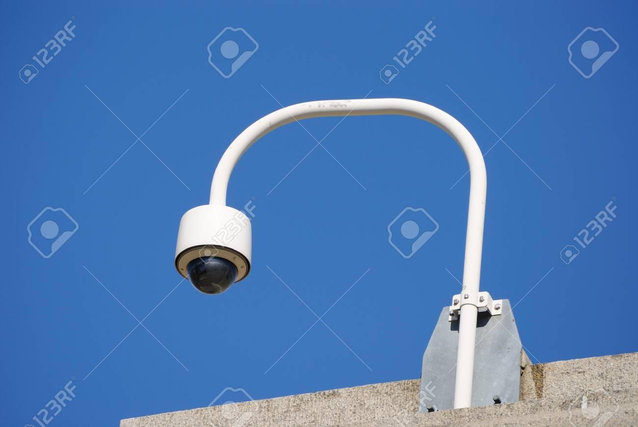 A police security camera Stock Photo - 8144305