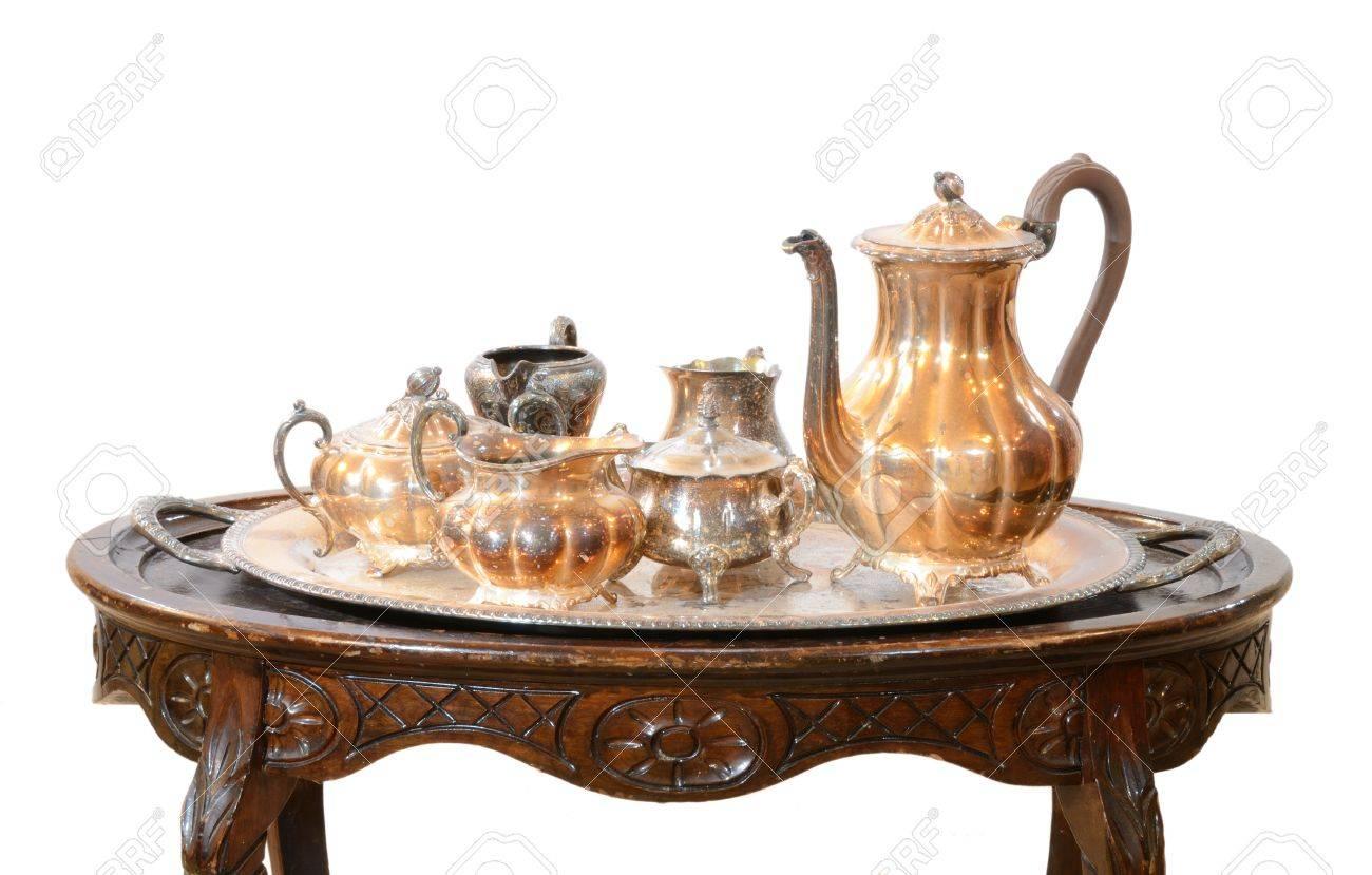 tea set table