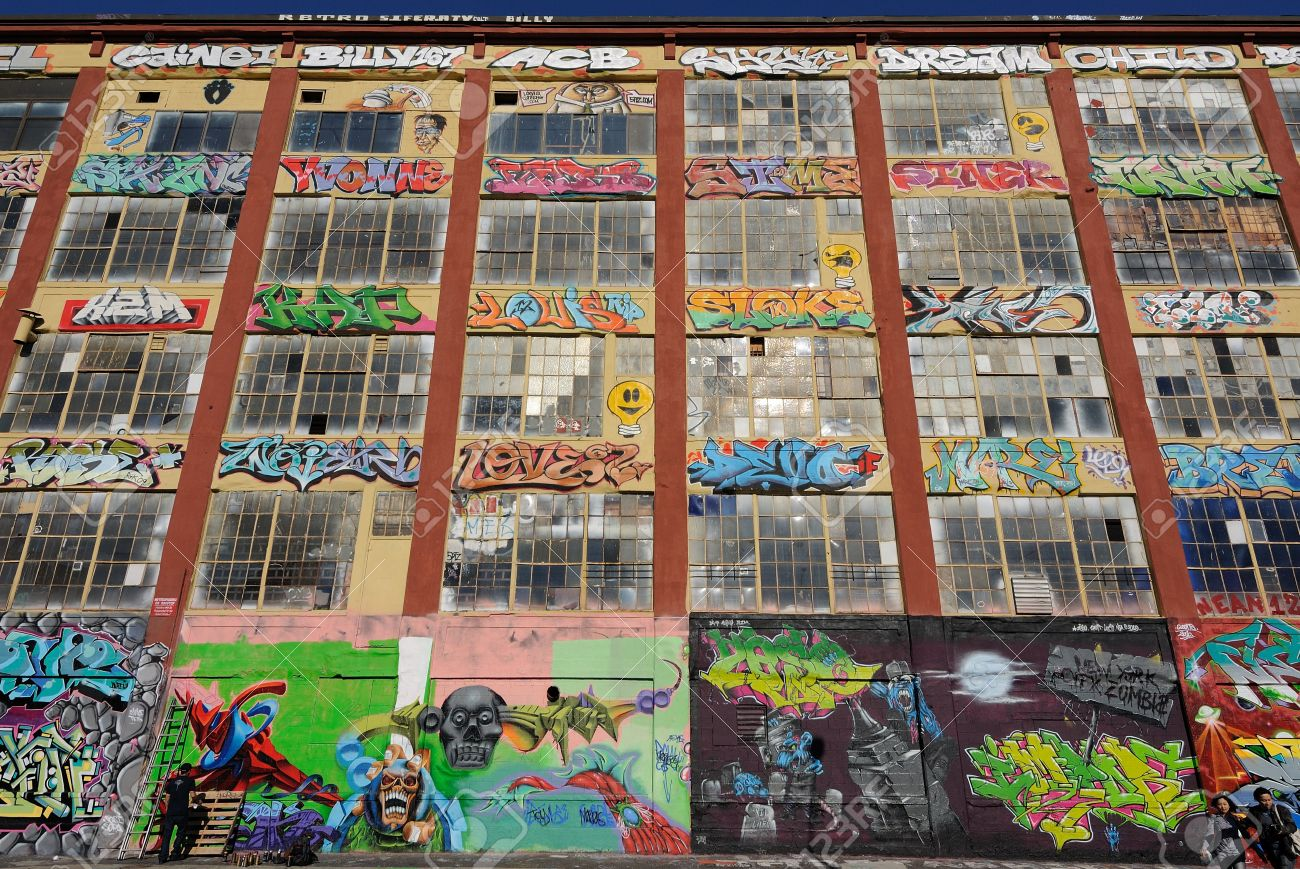 Graffiti wall in queens ny - Five Pointz Considered A Graffiti Mecca In Queens New York City Is An Outdoor