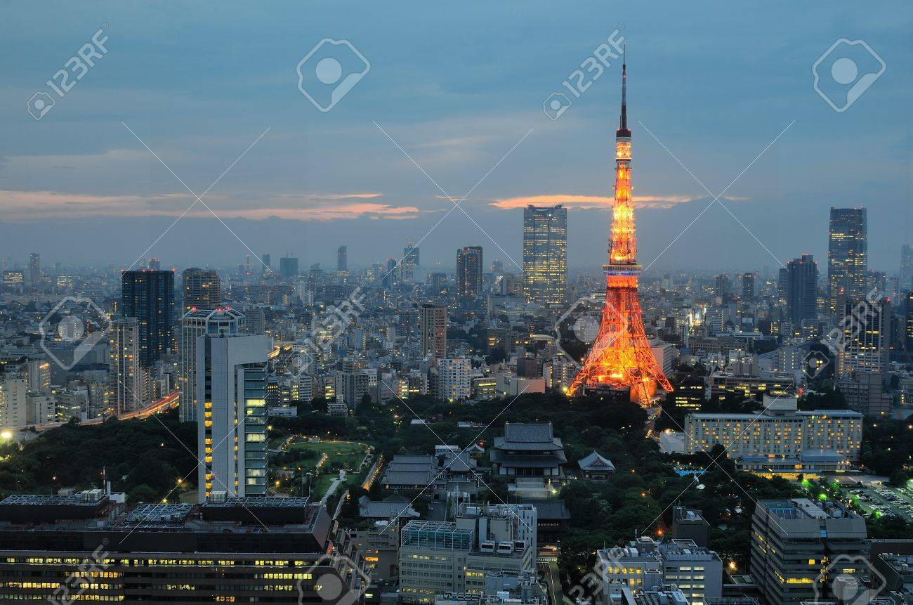 Tokyo Tower in Tokyo, Japan. Stock Photo - 10069805