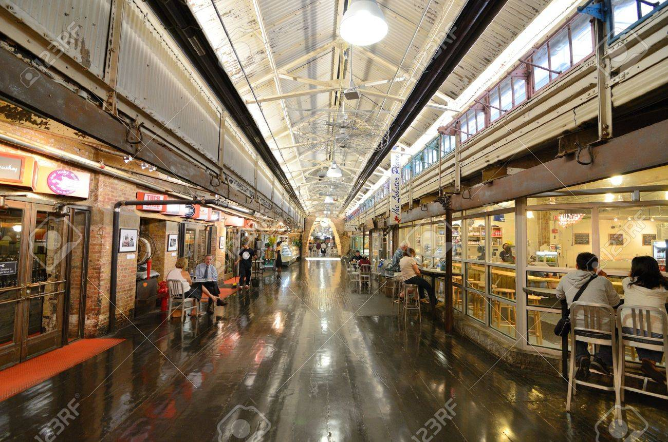 New York City August 25 Chelsea Market Is An Upscale Gourmet