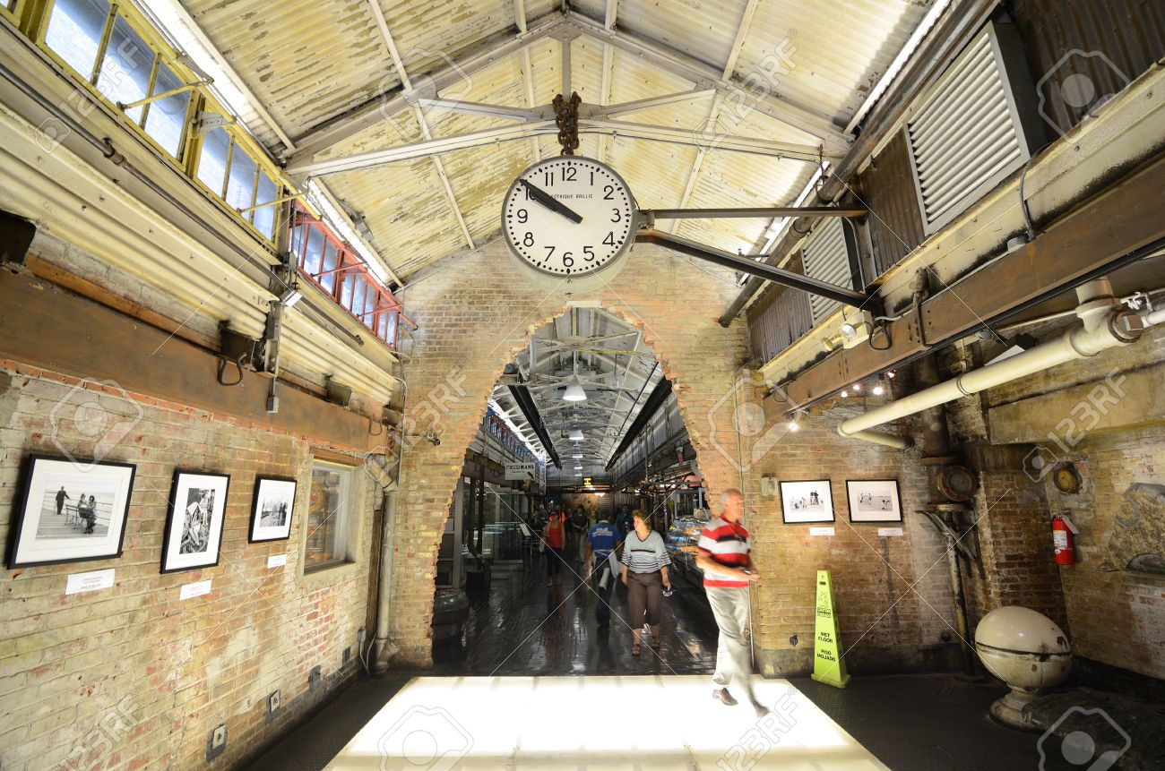 Chelsea Market new york city - august 25: chelsea market is an upscale gourmet