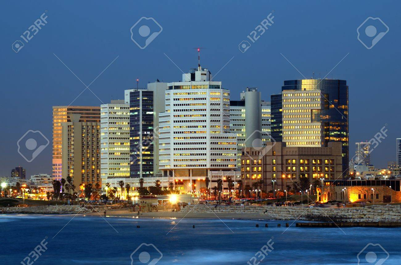 Skyline of Tel Aviv, Israel. Stock Photo - 12728403