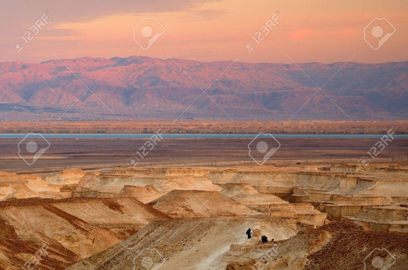 Hills in the Judaean Desert of Israel Stock Photo - 12741680