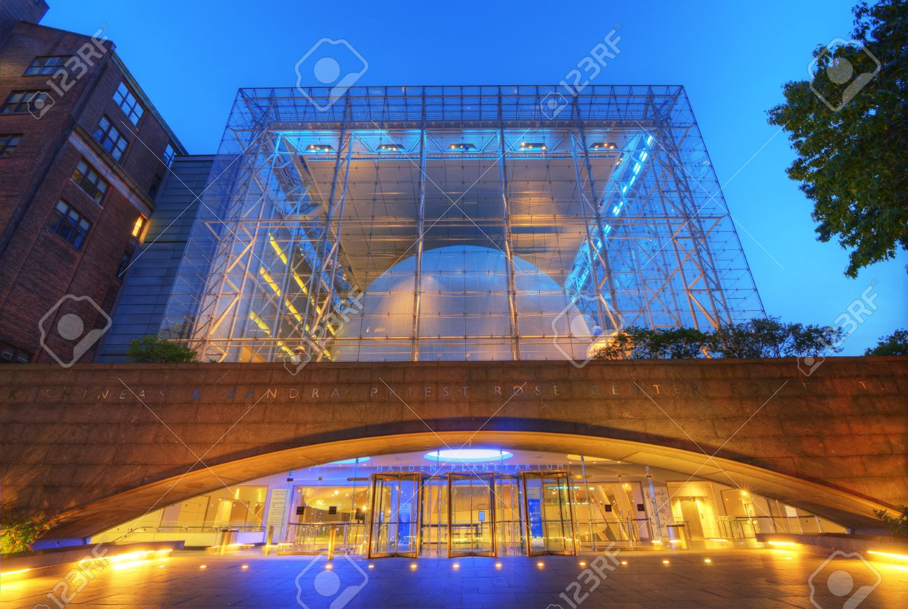 NEW YORK CITY - MAY 13: Hayden Planetarium, part of the American