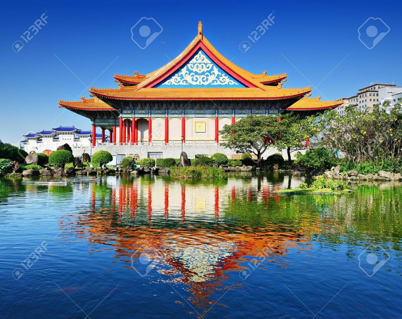National Concert Hall of Taiwan in Freedom Square, Taipei, Taiwan. Stock Photo - 21367937