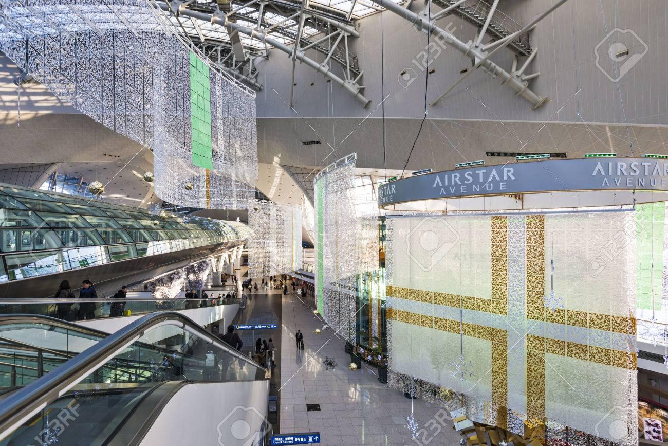 SEOUL - FEBRUARY 19: Incheon International Airport February 19 ...