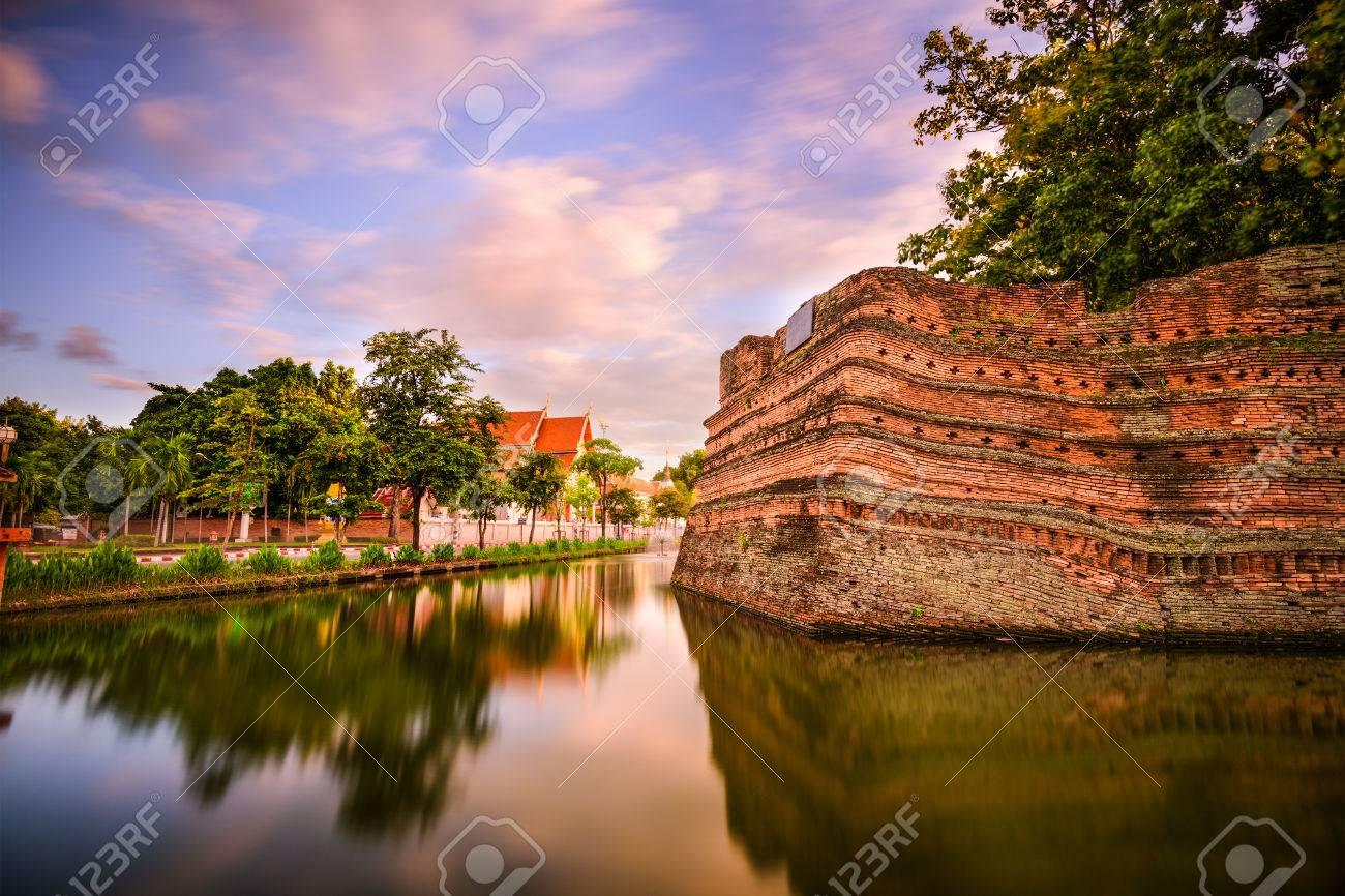 old city chiang mai thailand