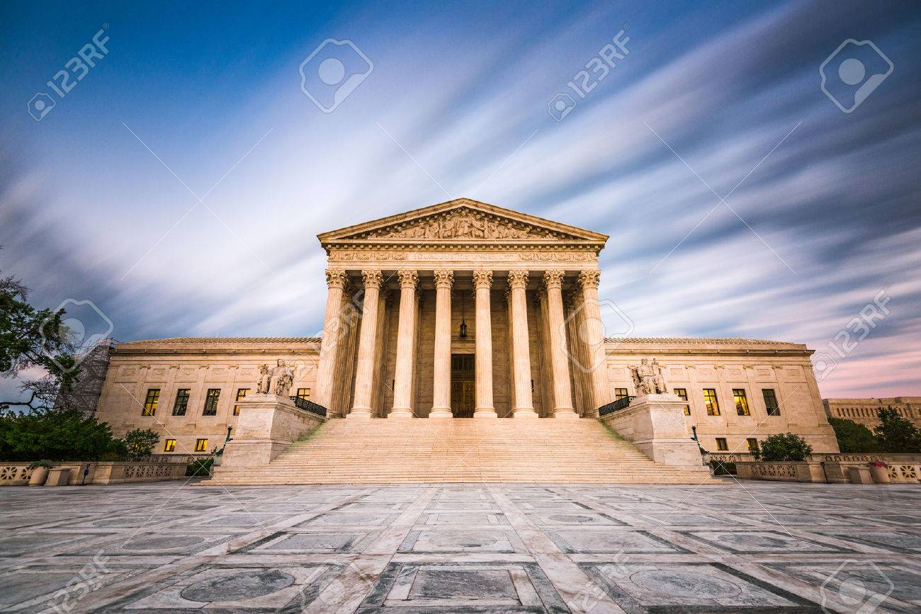 United States Supreme Court Building in Washington DC, USA. - 59289414