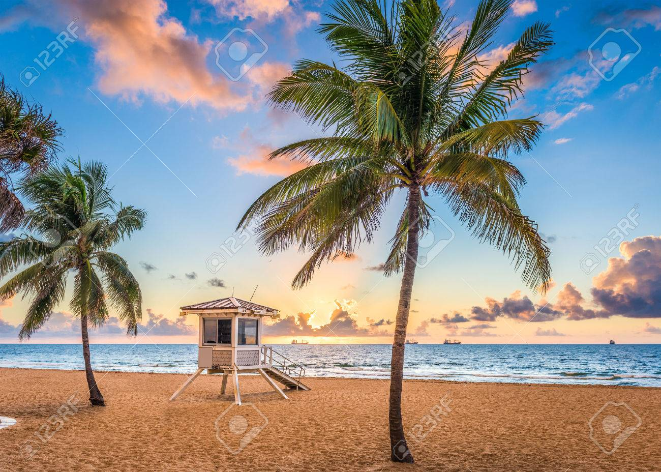 Fort Lauderdale, Florida, USA at the beach. - 82963057