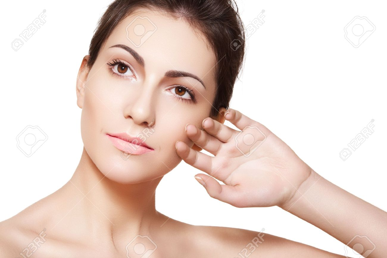 Beauty Stock Photos Beautiful woman model face