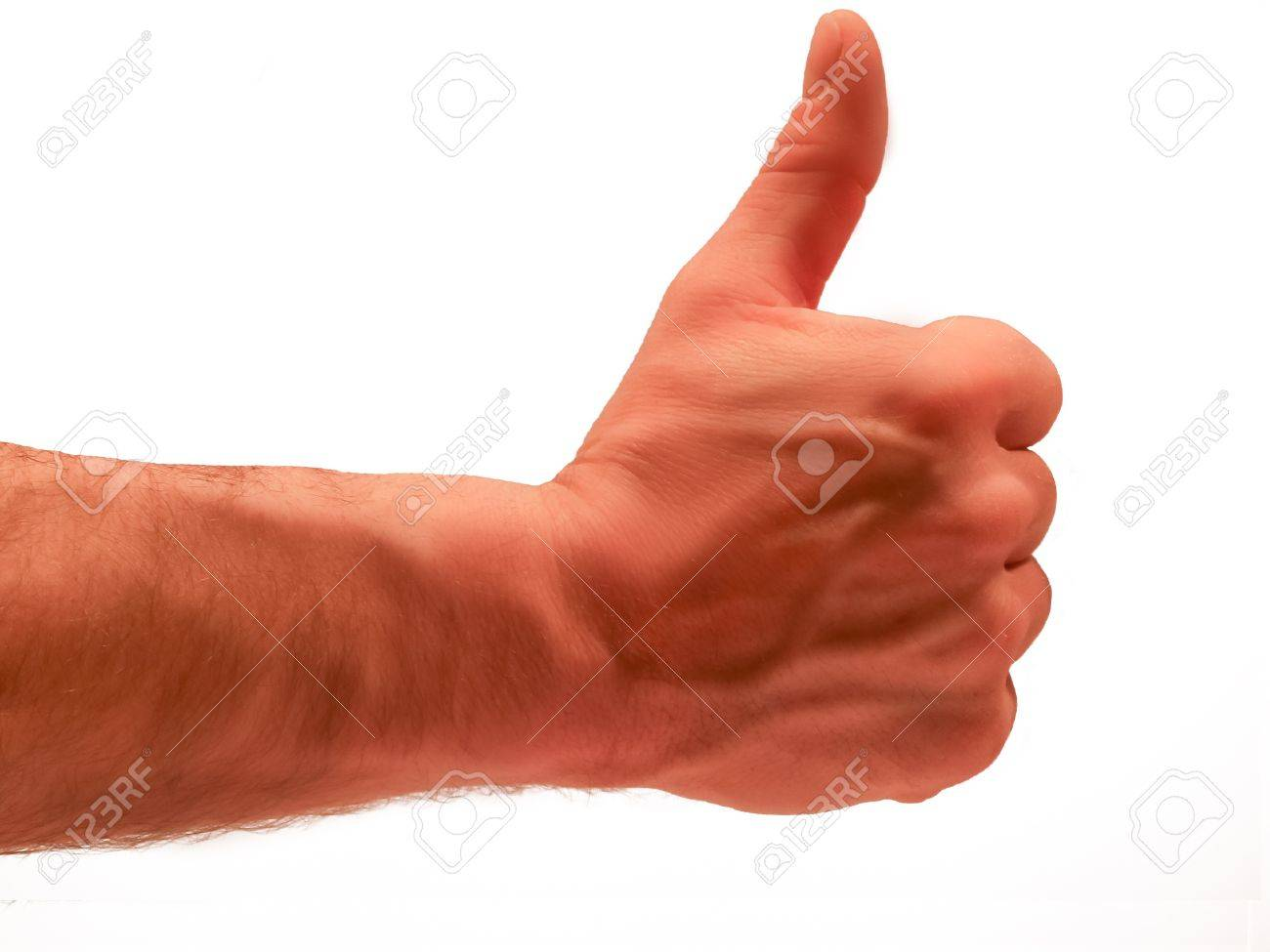 Male thumbs up Stock Photo - 17296703