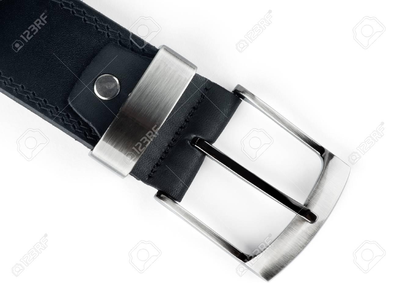 Belt buckle on white background Stock Photo - 15476901