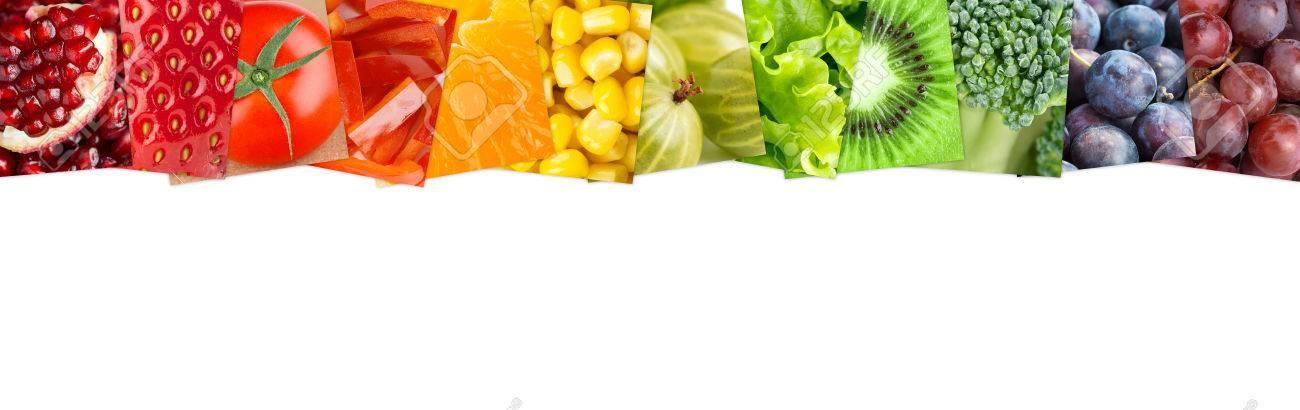Nett Bilder Von Obst Und Gemüse Zum Färben Bilder - Druckbare ...