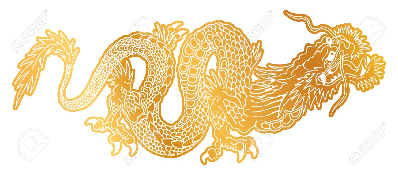 Chinese gold dragons golden dragon youtube