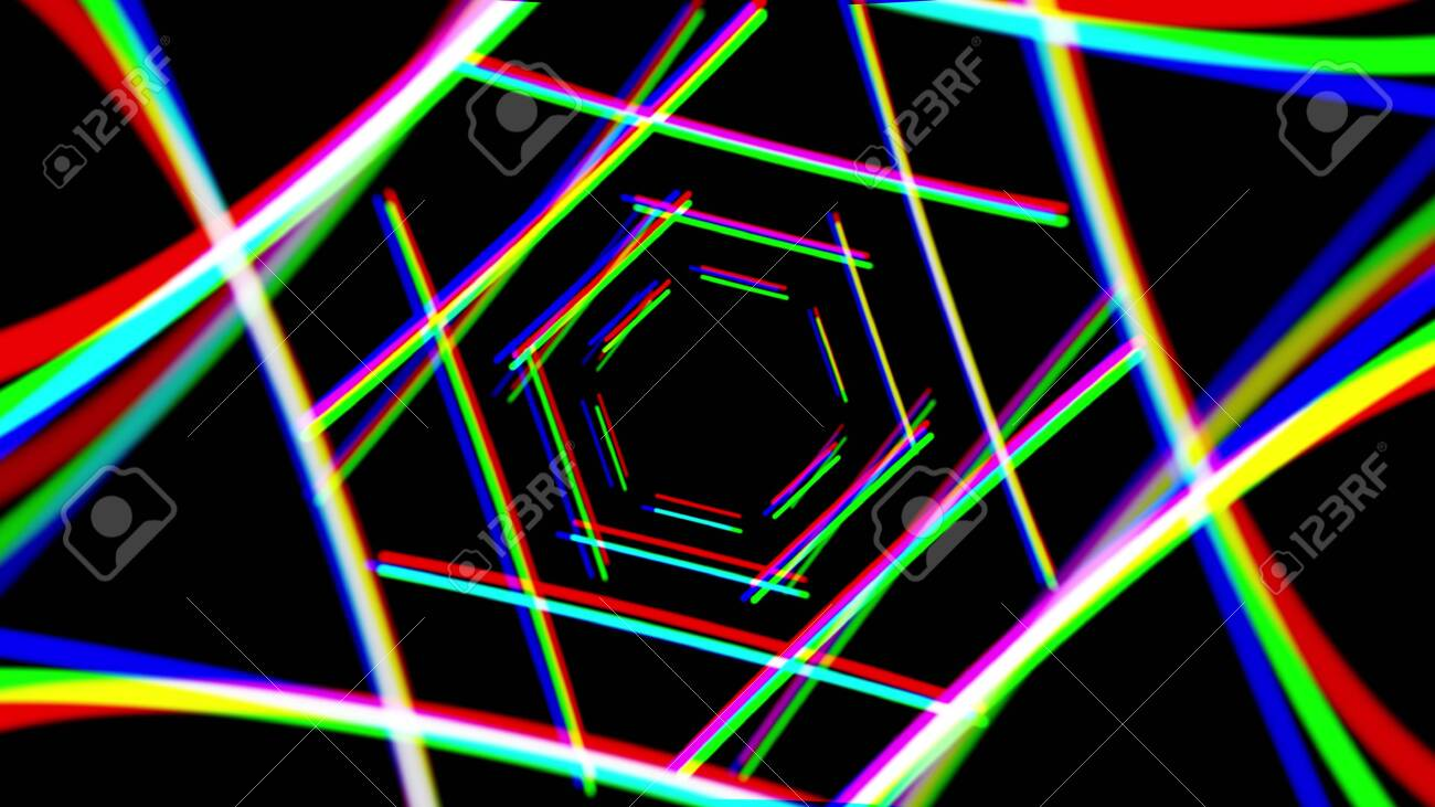 Abstract Neon Lights Illustration Background New Quality Techno Stock Photo Picture And Royalty Free Image Image 132201666