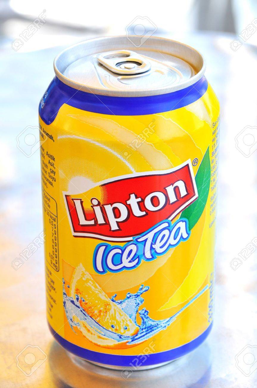 Ready to drink, refreshing Lipton Iced Tea Stock Photo - 11542329