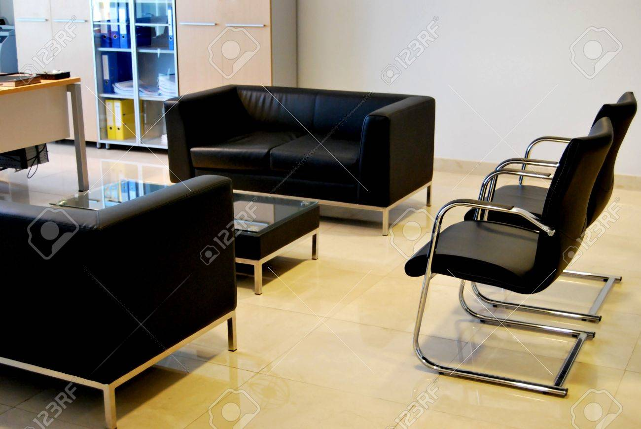 Empty offices and empty tables Stock Photo - 11786300
