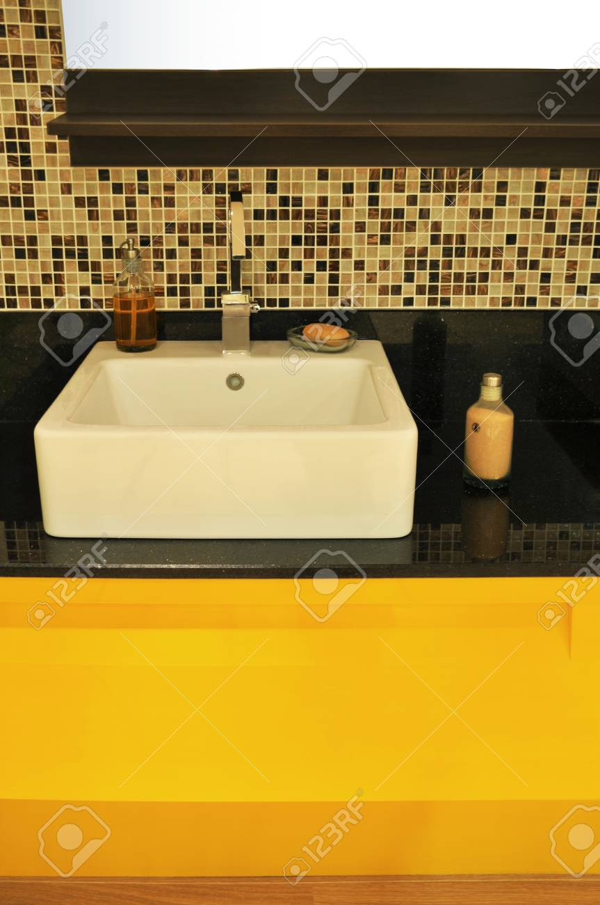 Detail from a modern and contemporary bathroom Stock Photo - 11934803