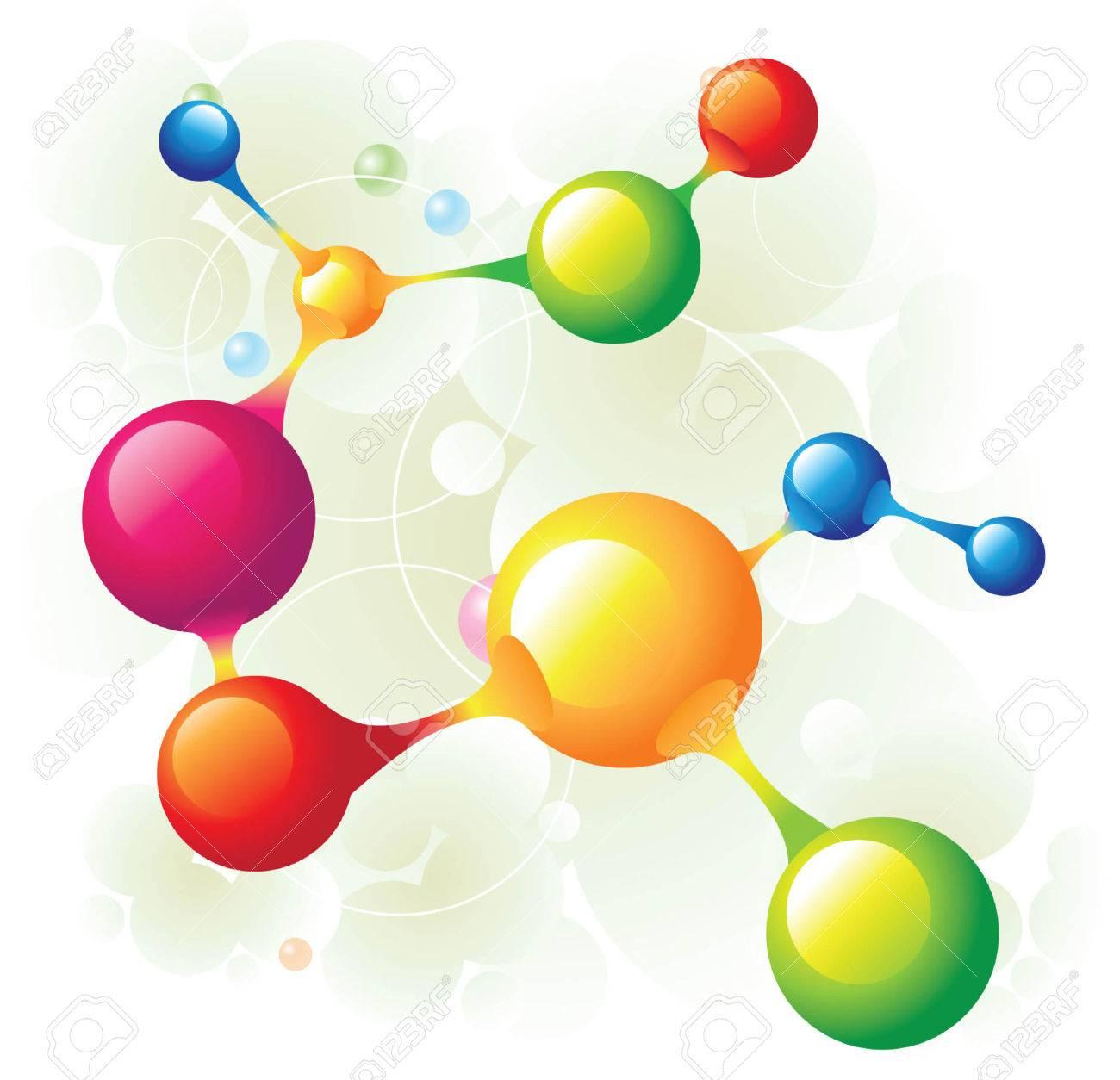 molecule13 Stock Vector - 5137705