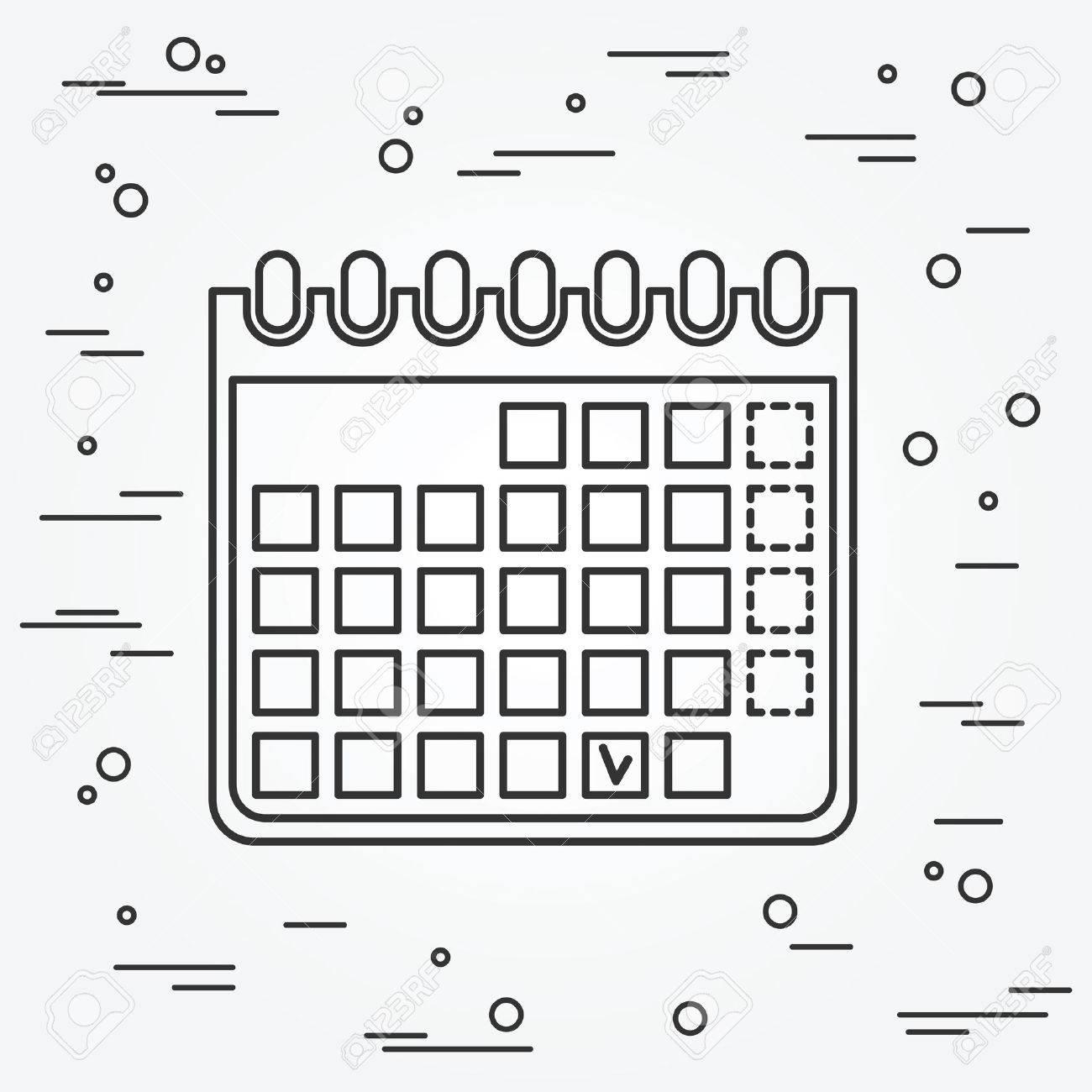 Calendar Icon. Calendar Icon .Calendar Icon Drawing. Calendar Icon Image. Calendar Icon Graphic. Calendar Icon Art. - 48820546