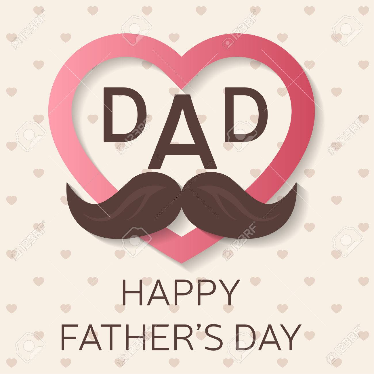 Happy Father S Day Greeting Card Happy Father S Day Poster