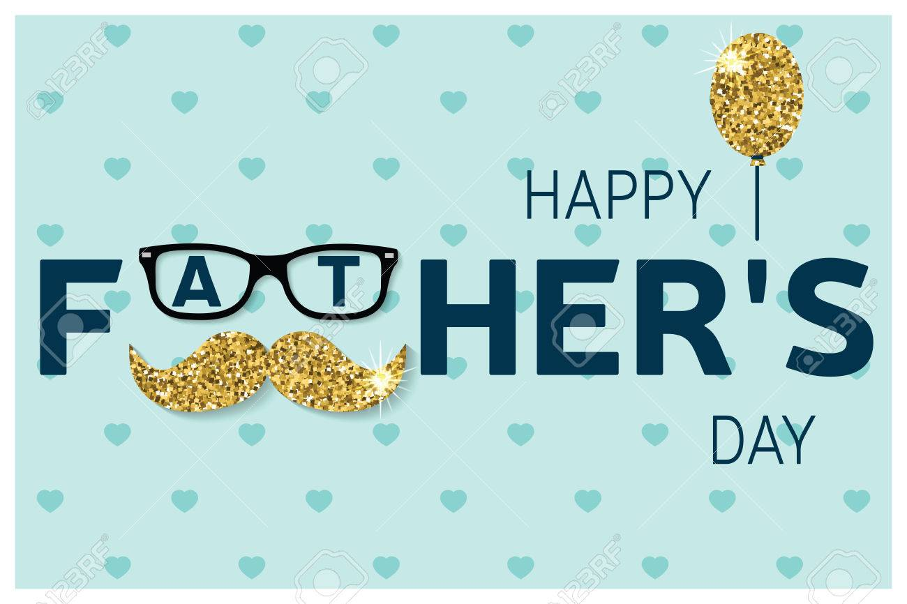 Happy fathers day greeting card happy fathers day poster happy fathers day greeting card happy fathers day poster vector stock vector 57824872 m4hsunfo