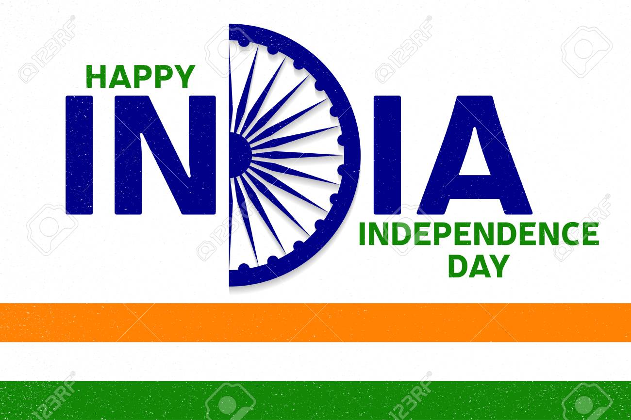 indian independence day greeting card poster flyer patriotic