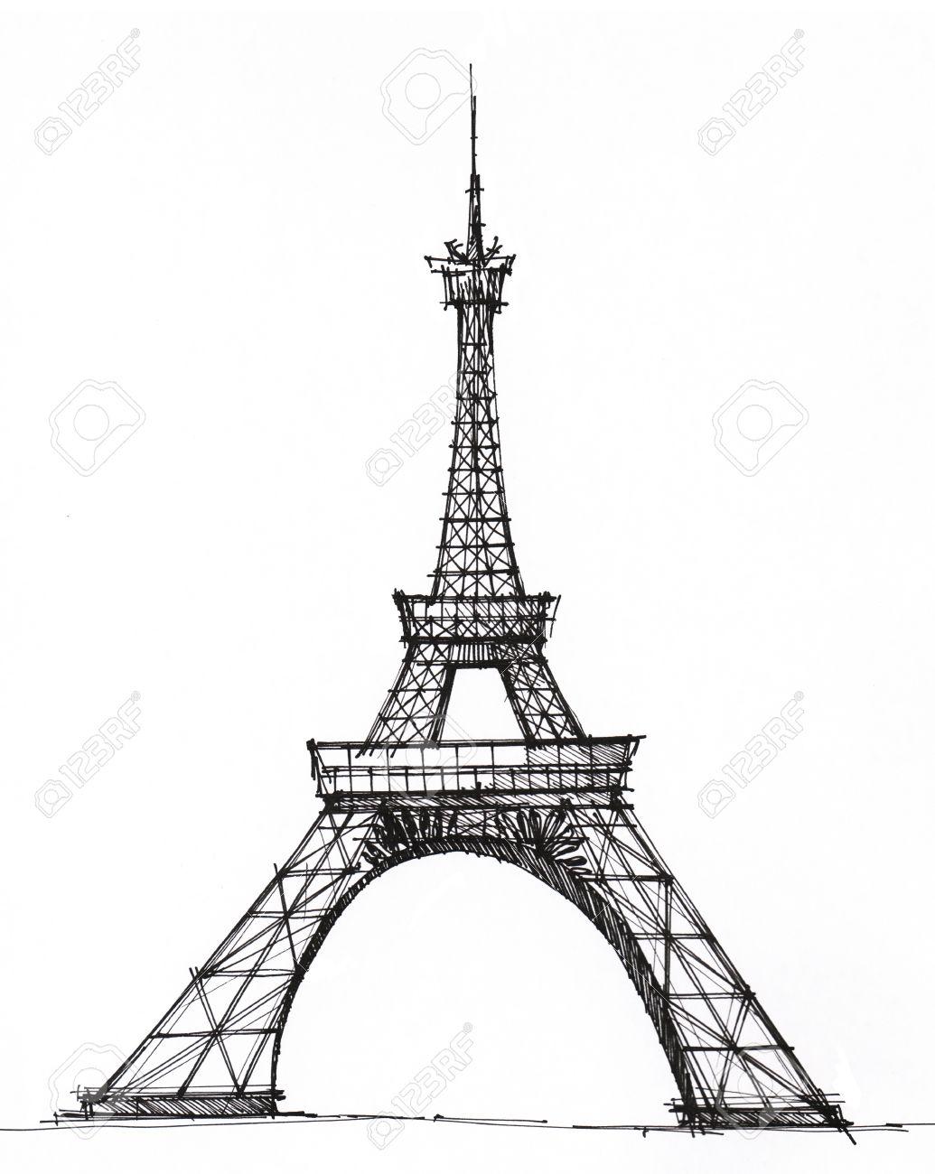 Charmant Eiffelturm Paris Druckbare Malvorlagen Fotos - Entry Level ...
