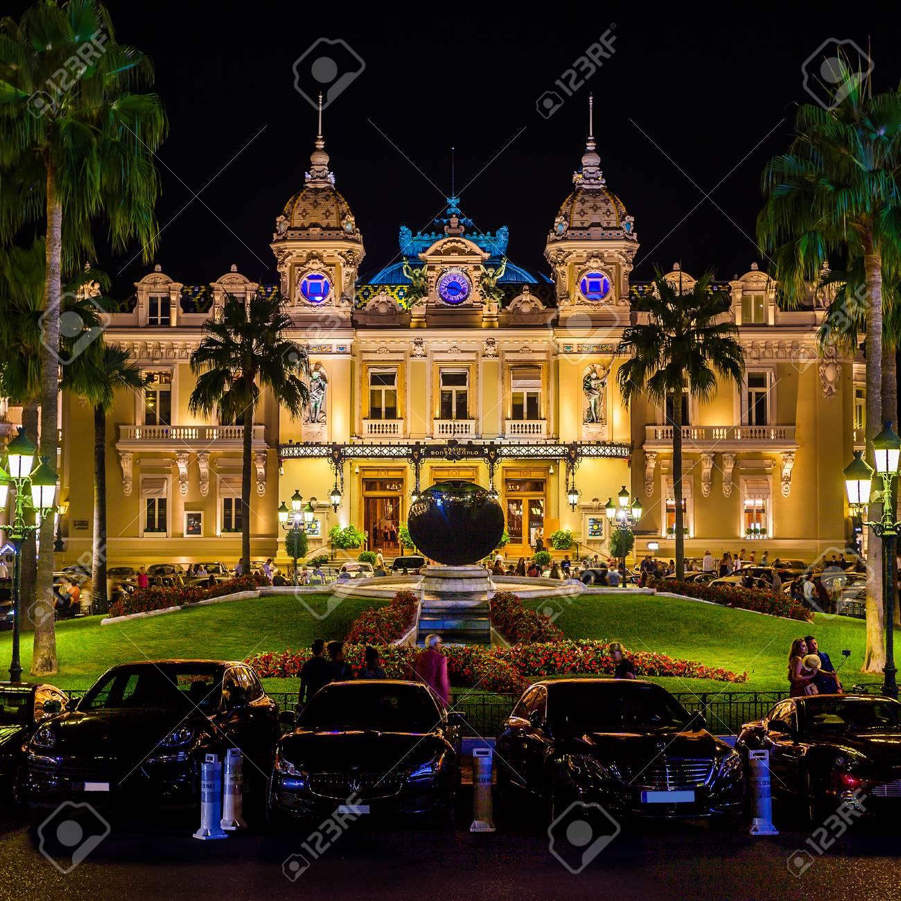 Monte Carlo Casino >> The Grand Casino Monte Carlo At Night Monaco