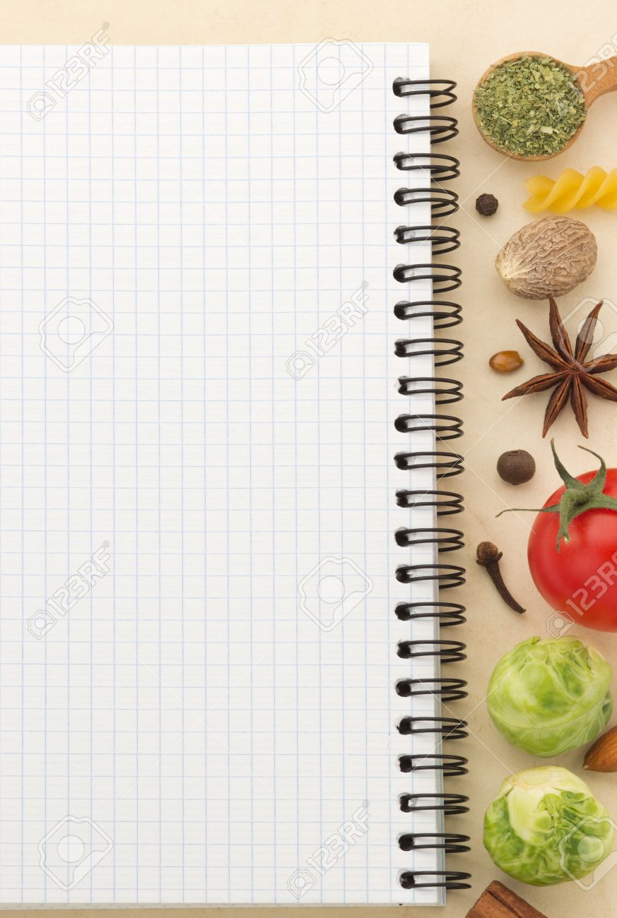 Food ingredients and recipe book on aged background stock photo food ingredients and recipe book on aged background stock photo 19576079 forumfinder Gallery