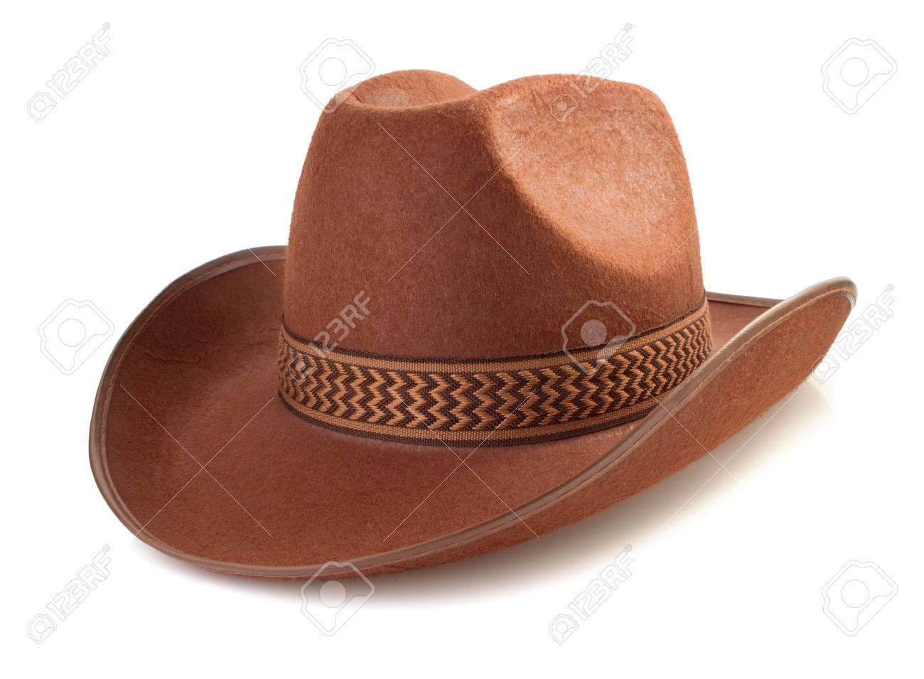 cowboy hat isolated on white background - 35951003
