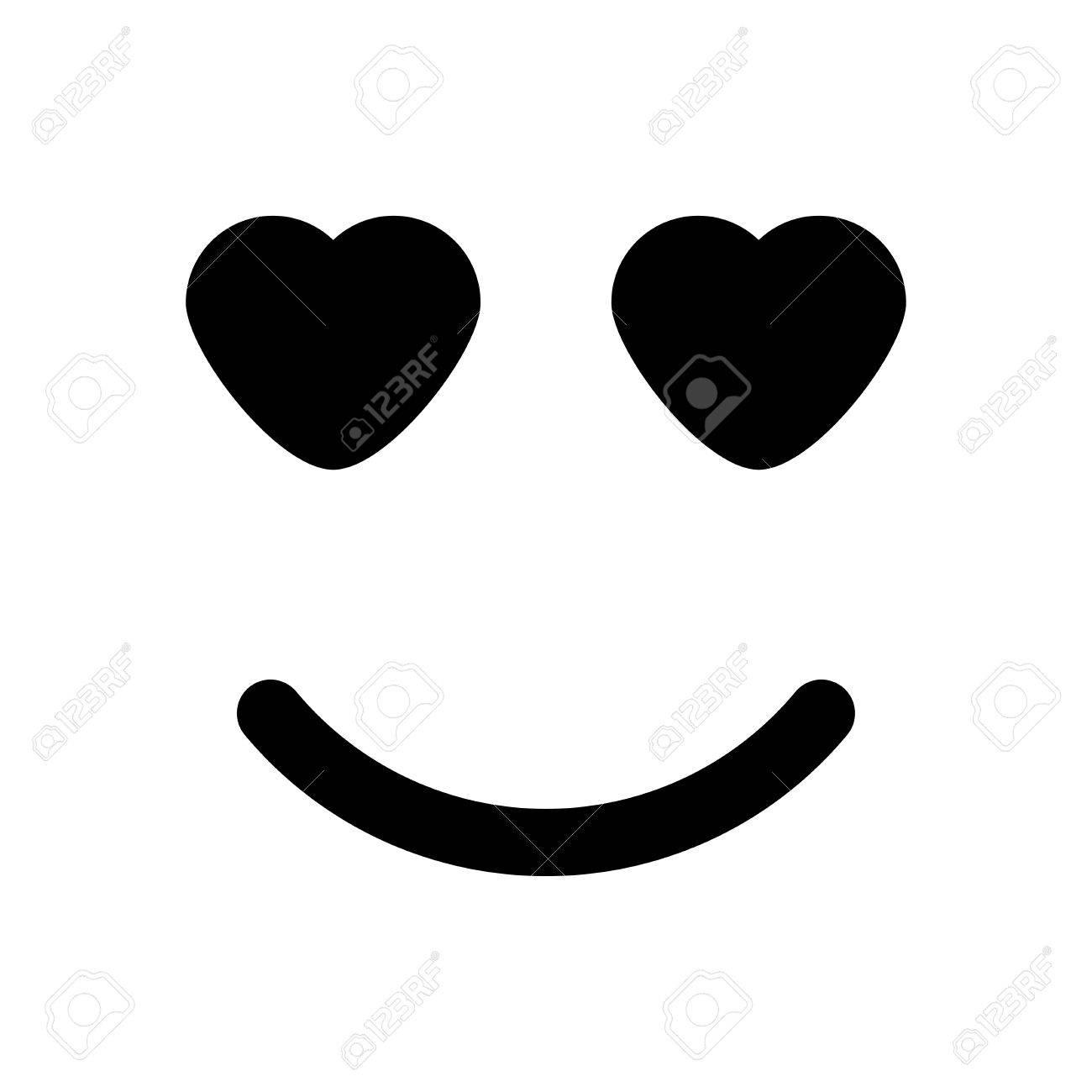 Augen den in mit smiley herzen Outlook Smileys: