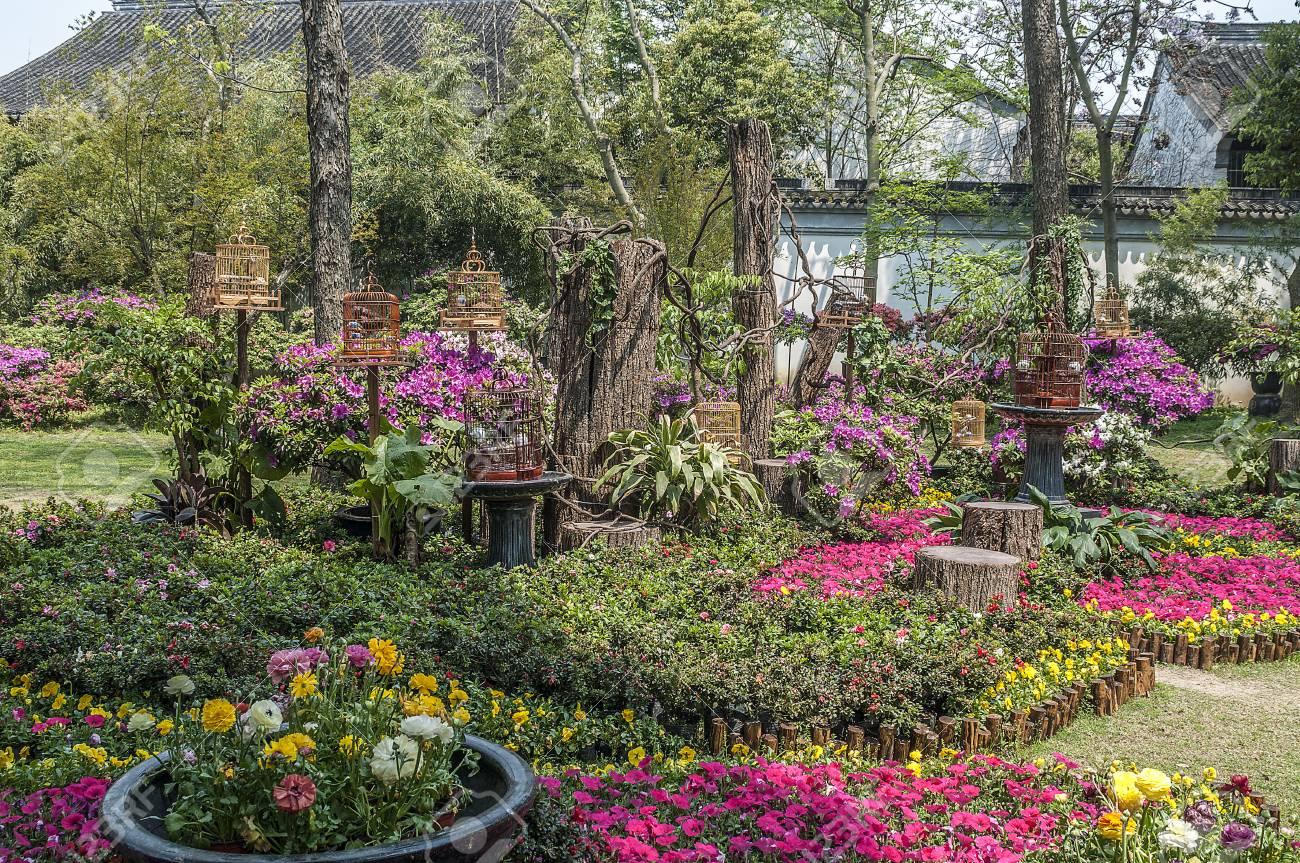 Suzhou, Cina. Giardini Paesaggistici Cinesi Artificiali - Una Poesia ...