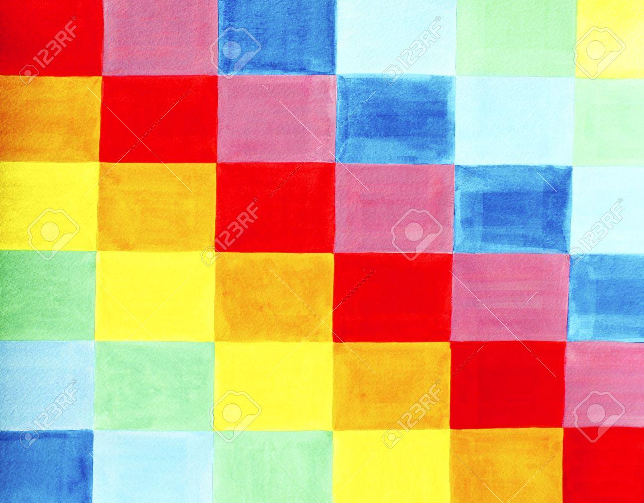 Bandera roja naranja amarilla verde azul y violeta