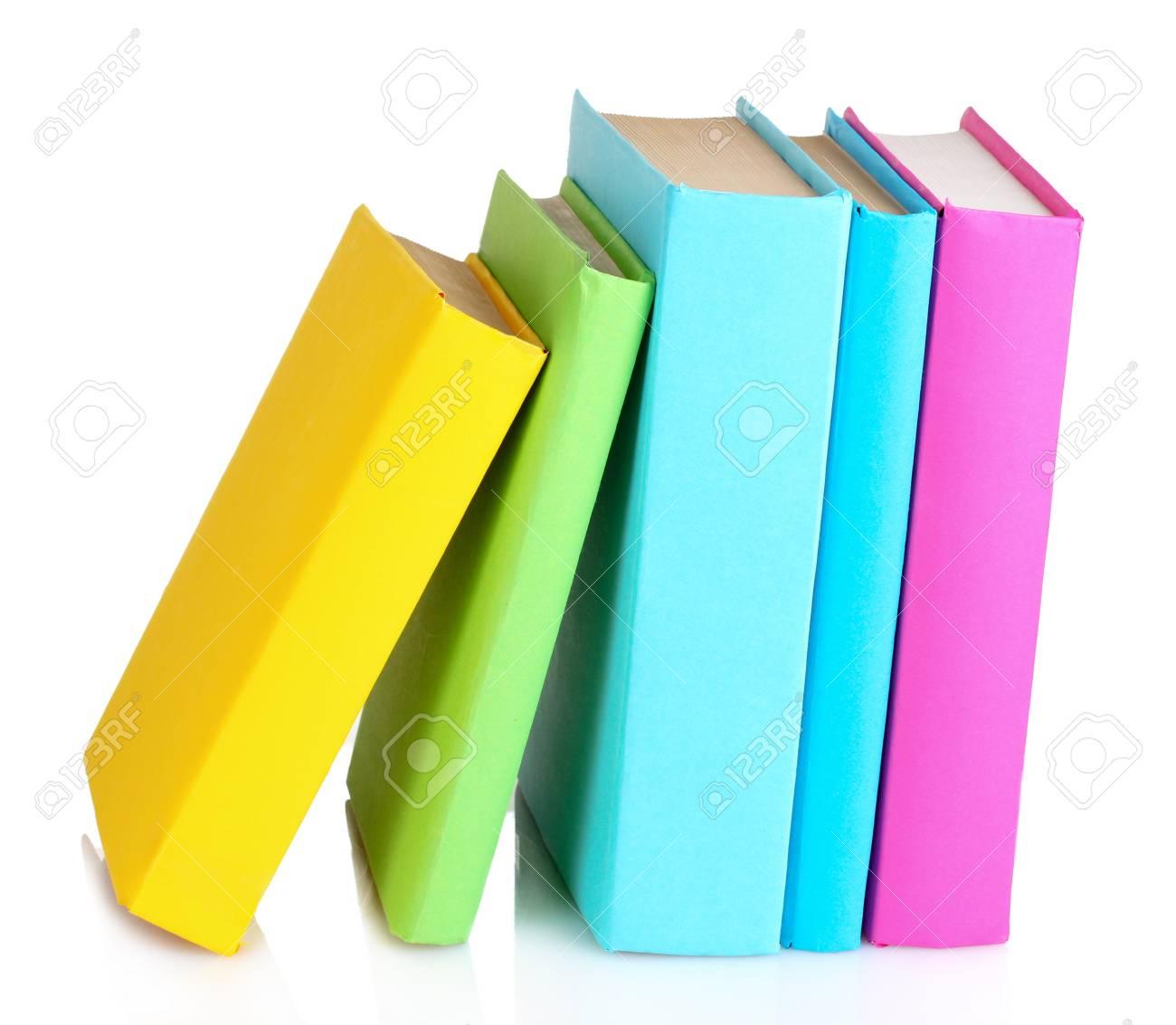 Books isolated on white Stock Photo - 10354095