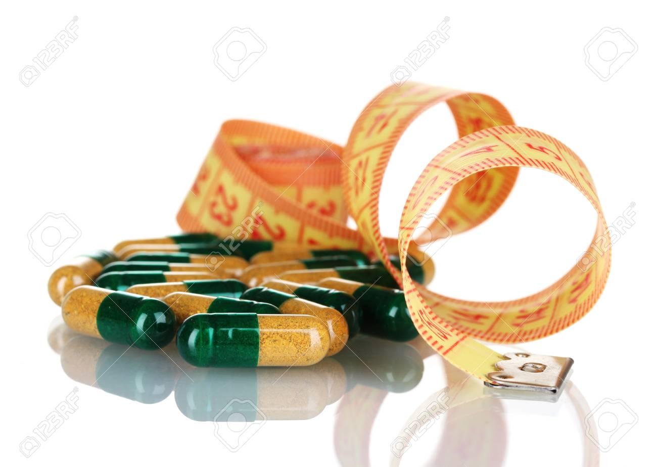 Diat Pillen Und Massband Lizenzfreie Fotos Bilder Und Stock