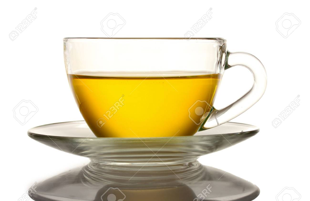nice cup of tea isolated on white Stock Photo - 10817787