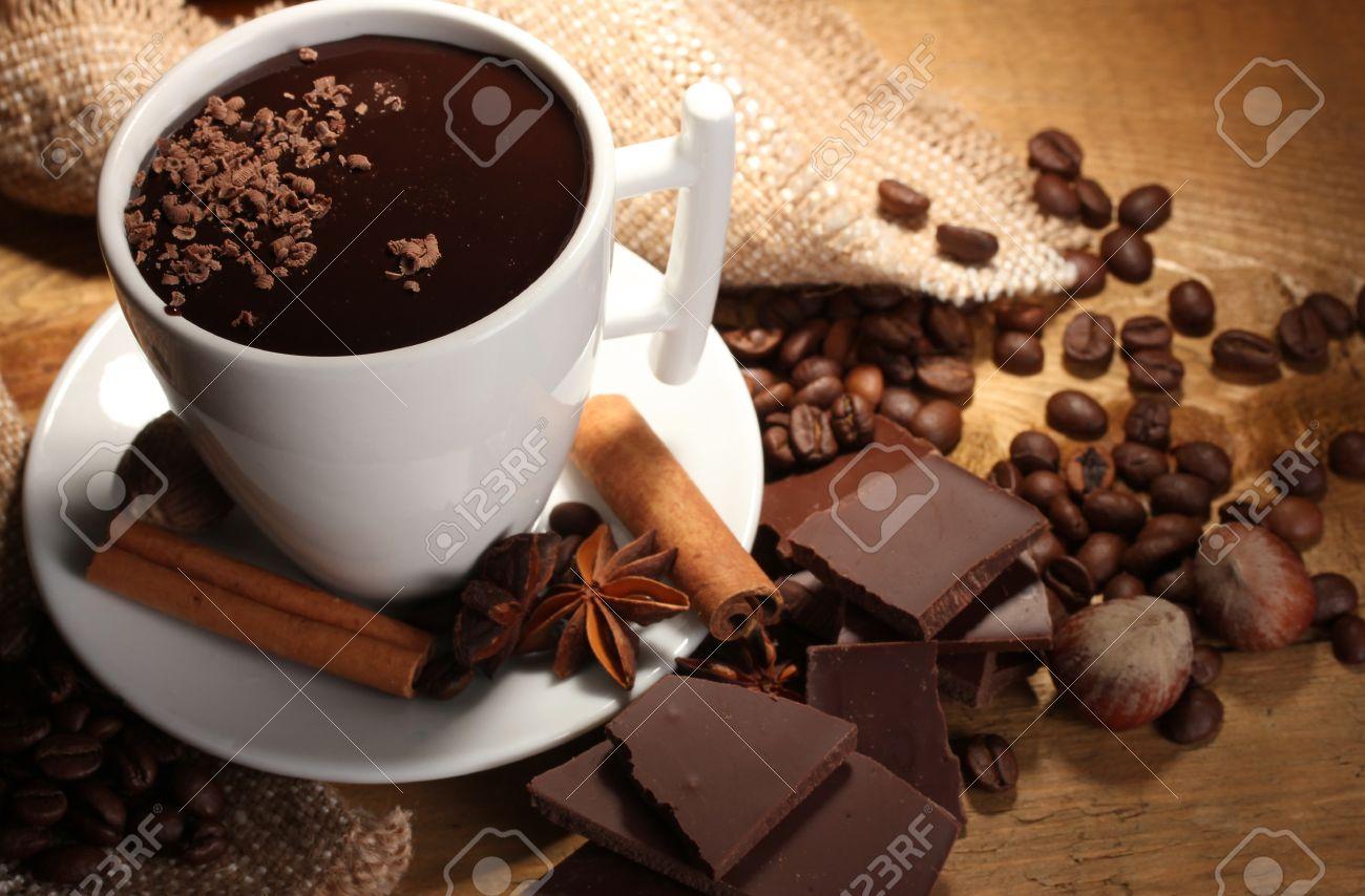 Chocolate Caliente Imágenes De Archivo, Vectores, Chocolate ...