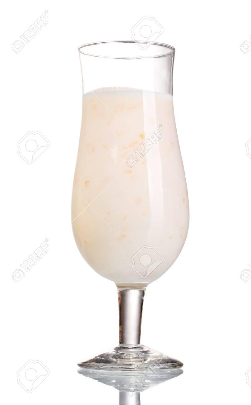Milk shake isolated on white Stock Photo - 12310588