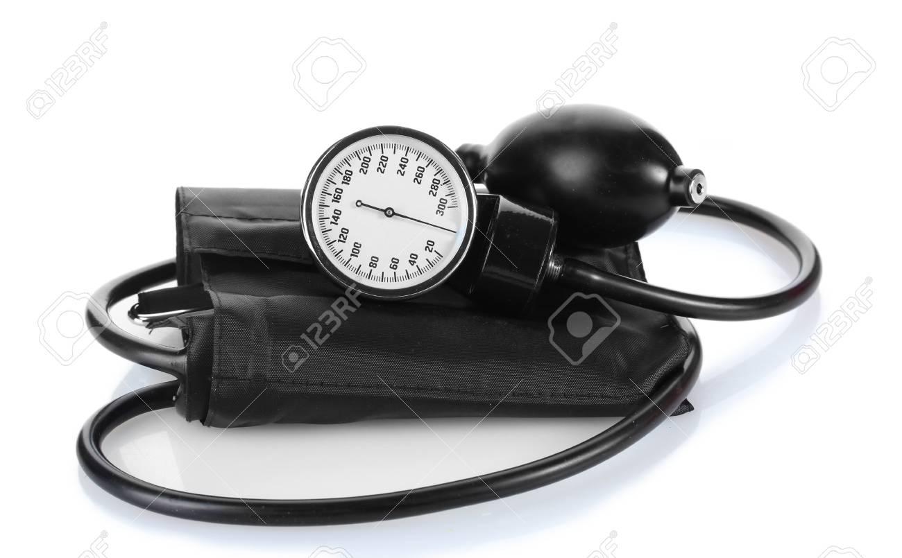 Black tonometer isolated on white Stock Photo - 12564462