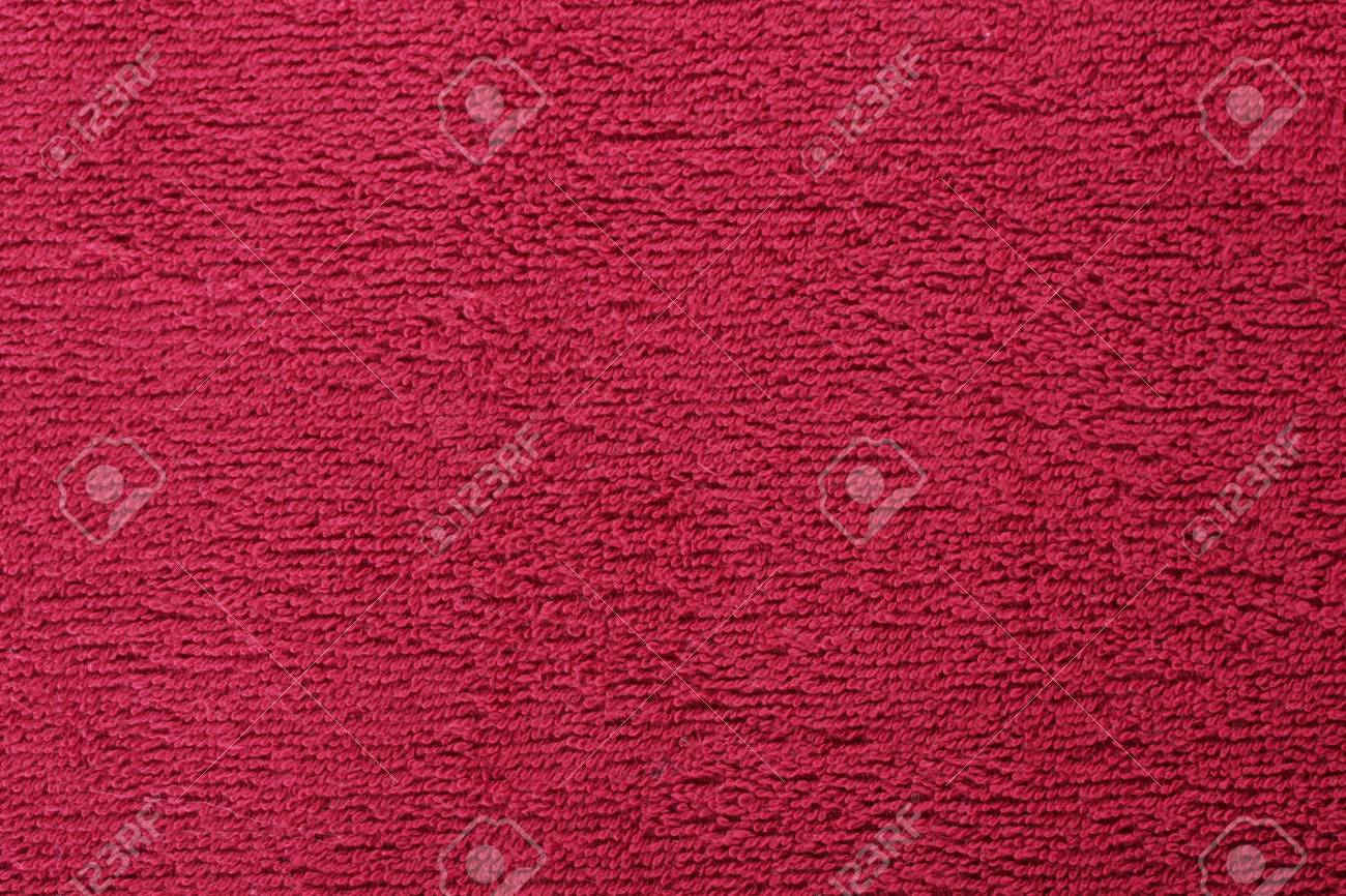 red bright towel close up Stock Photo - 13084694