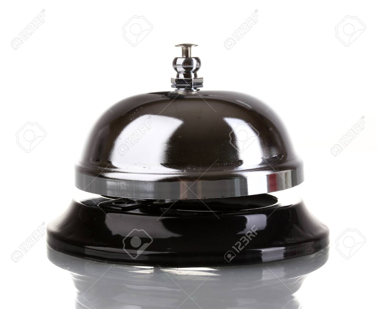 Service bell isolated on white Stock Photo - 14677979